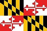 Lantern Press Maryland - State Flag (9x12 Art Print, Wall Decor Travel Poster)