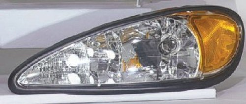Depo 336-1102L-AS Pontiac Grand Am Driver Side Replacement Headlight (Grand Am Headlight Lh Driver)