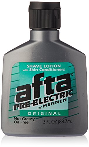 Afta Pre-Electric Shave Lotion With Skin Conditioners Original 3 oz (Pack of (Pre Electric Lotion)