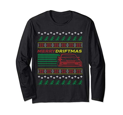Christmas Ugly Sweater Merry Driftmas Car