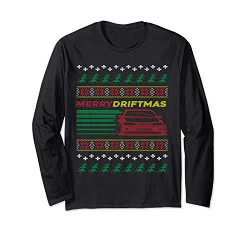 Christmas Ugly Sweater Merry Driftmas Car