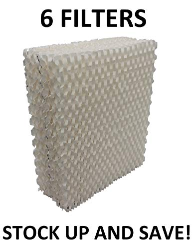 (Humidifier Wick Filter for Bemis 8266, 826 800, 8268, 8167-6 Pack)