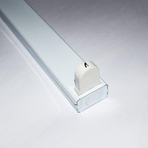 Halter f/ür LED Leuchtr/öhren 90 cm Fassung