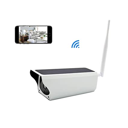 FYLFN Solar Security Camera, Wireless IP Camera Outdoor WiFi