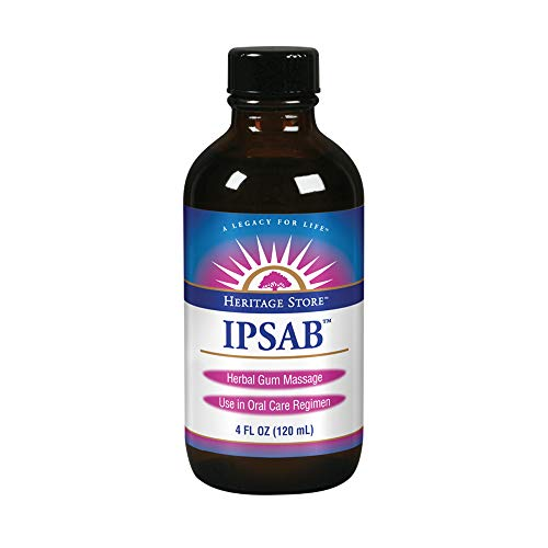 (Heritage Store IPSAB Herbal Gum Treatment, 4 Ounce)