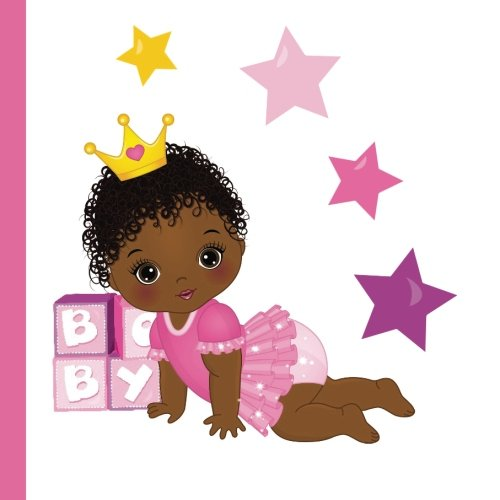 Search : African American Princess Baby Shower Guest Book: Beautiful African American Princess Baby Shower Guest Book + Plus Bonus Gift Tracker + Bonus Baby American Girl Baby Shower Decorations