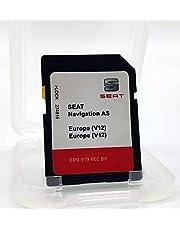 Kaart SD Update Seat Navigatie AS Europa 1 versie 12 / Seat Navi System 6P0 / MIB2 versie 2020-2021