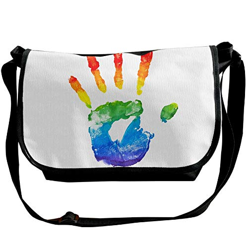 Black Hand Cross Women's Designer Bag Sling LGBT Casual Fashion Handbags Bag Body x6OqEPw