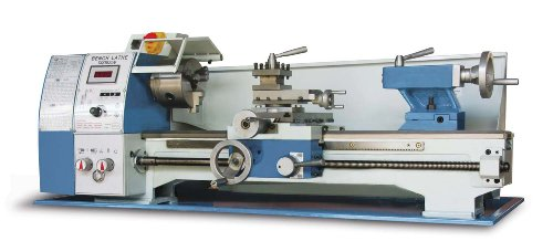 Baileigh PL-1022VS Variable Speed Bench Top Lathe, 110V, 1hp Motor, 10'' Swing, 22'' Bed Length by Baileigh