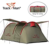 Track Man 2 Person Tent – 3 Season – Outdoor Camping Tent with Carry Bag