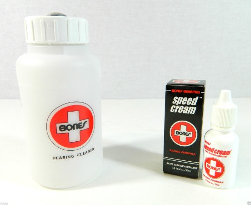 Bearing Lubricant - Bones Swiss Skate Speed Cream + Cleaning Unit Kit