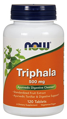 Now Foods, Triphala 500mg 120 Tabletten