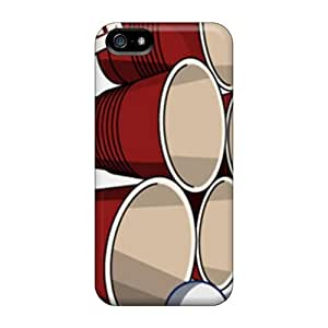 Luoxunmobile333 TGM3345vtZl Cases Covers Iphone 5/5s Protective Cases Beer Pong 2