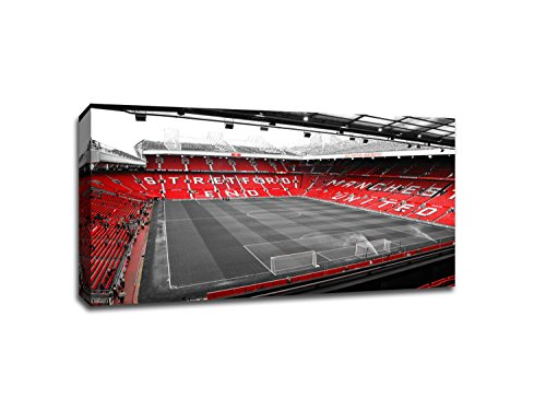 Manchester United - Old Trafford (18x10 Canvas)