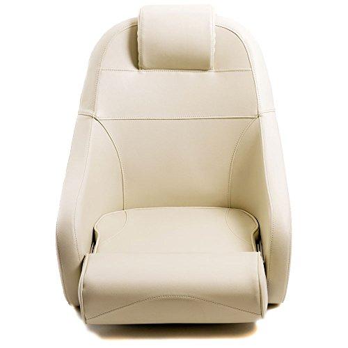 Steuerstuhl Bootssitz Flip Up mit Kopfstütze