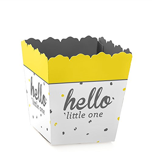 Hello Little One - Yellow and Gray -