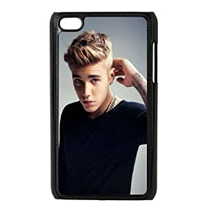 Pop Boy Justin Bieber Hard Plastic phone Case Cover FOR IPod Touch 4 XFZ412690