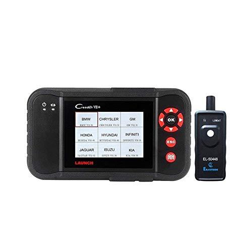 LAUNCH Black Creader VII+ OBD2 Scanner ABS SRS Transmission and Engine Code Reader Diagnostic Scan TPMS Activation Tool Gift