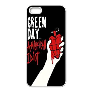High Quality Phone Back Case Pattern Design 14Popular Music Band Green Day Design- For Apple Iphone 5 5S Cases