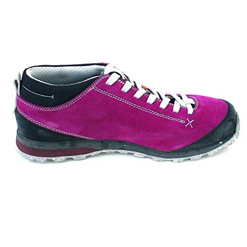 AKU Bellamont Suede - Zapatillas de deporte exterior Mujer fucsia/blanco