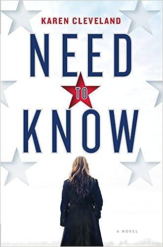 Amazon Com Need To Know A Novel  Karen Cleveland Books