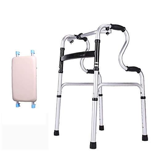 TLANG WALKER Andador Estable, Andador Plegable de Aluminio ...