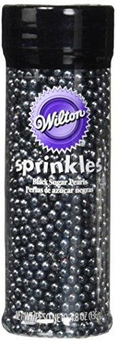 Wilton Black Sugar Pearls]()