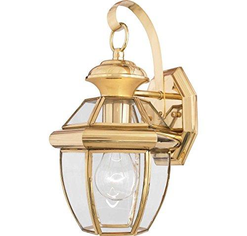 Brass Outdoor Light - 2