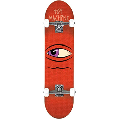 Toy Machine Skateboards Side Eye Complete Skateboard - 7.87