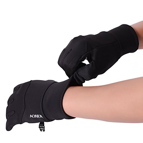 Warm Fleece Winter Running Gloves For Cold Weather Unisex Climbing Non Slip Touch Screen Gloves