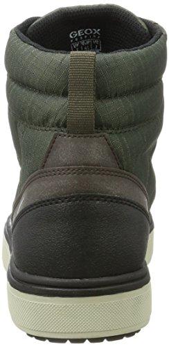 Geox J Mattias B Abx B, Botas Chukka Unisex Adulto Verde (Green/brown)