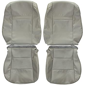 e8c220cb40 2012-2015 Toyota Camry Genuine Leather Seats Cover Custom Made (Front) Tan