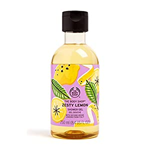 The Body Shop Special Edition Zesty Lemon Shower Gel