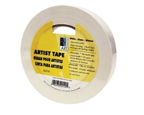 Economy White Artists Tape 1/4In X 60Yds