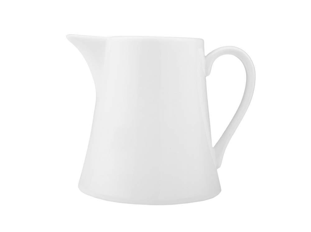 blanc 10 x 8.5 x 8 cm Dajar WELLE // KUBIKO pot /à lait 200ML porcelaine