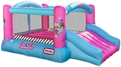 LOL Surprise Jump 'n Slide Inflatable Bounce House with Blower