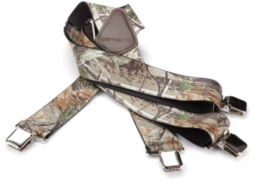 Mens Carhartt Camouflage - Carhartt Men's Realtree Camo Suspender Straps, Multi, One Size