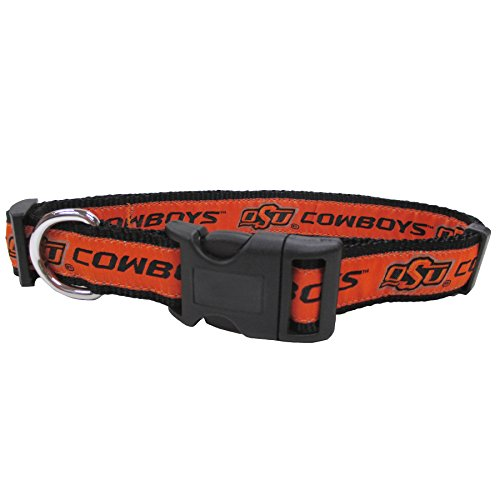 COLLEGE OKLAHOMA STATE COWBOYS Dog Collar, (Virginia State Duck)