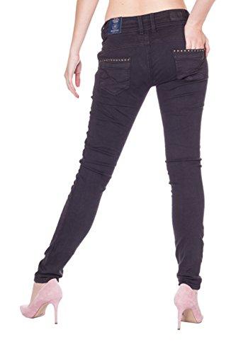 Uni Femme Jeans Jeans Skinny Blue Monkey Noir OwxI4qxgX
