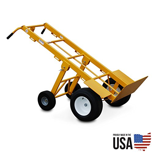 American Cart Mega Hauler Hand Truck with Rear Wheels