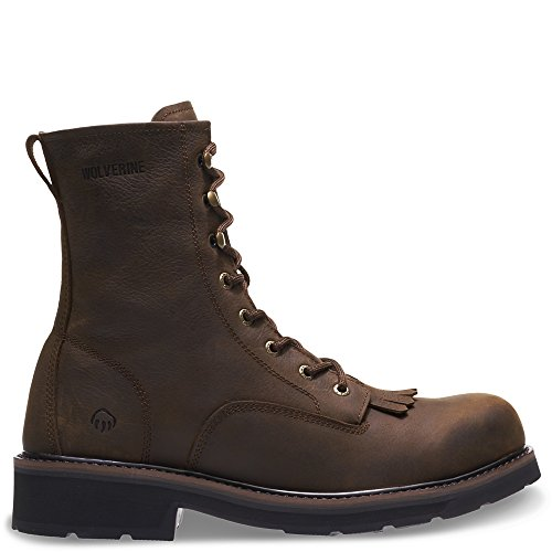 WOLVERINE Men's Ranchero Soft-Toe 8