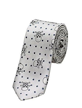 Paisley OF LONDON, en Gris Niño corbatas, Entallado corbata ...