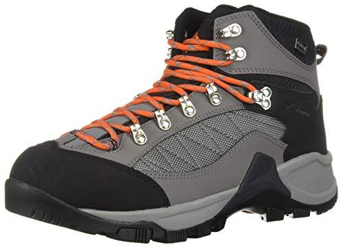 Columbia Men's Table Rock Outdry Hiking Boot, ti Grey Steel, Tangy Orange, 9.5 Regular US