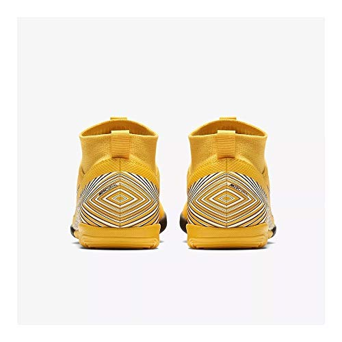 – Scarpe Jr Unisex 6 Njr Academy Suprfly Nike Gs 710 White Multicolore Bambini Black Da Ic Fitness amarillo gxPfnxH