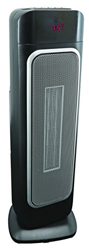 "Comfort Zone CZ523RBK 23"" Ceramic Tower Heater Ceramic Heaters World & Main, LLC"