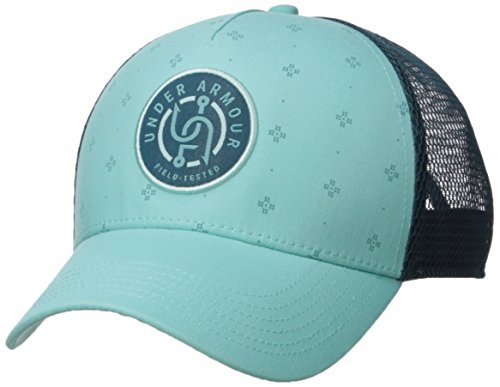 Under Armour Women's Fish Graphic Snapback Cap, TROPICAL Tide/Desert Sky, One Size