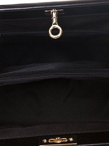 Mano Asa Mujer De Handbag Bolso Markese Negro 7PnwROqqx