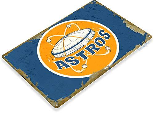 Houston Astros Sign - Tinworld TIN Sign 12