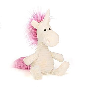 Amazon Com Jellycat Baggles Ursula Unicorn Stuffed Animal 15