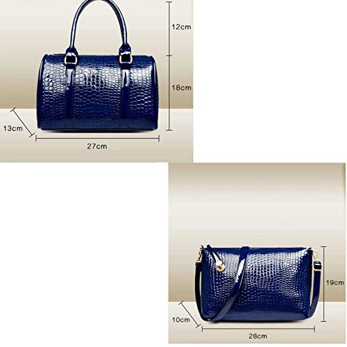 Del Hombro Un color Blanco Casual Tamaño Tamaño Azul Conjuntos Seis Key Messenger De Bag Eeayyygch Bolso Paquete Tarjeta Moda Señoras 5qSRxpY